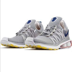 Nike Shox Gravity Metallic Silver/Gym Blue Mens